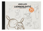 Anglo-Nordic Moominvalley sketch pad A3 115 gram 30 sheets