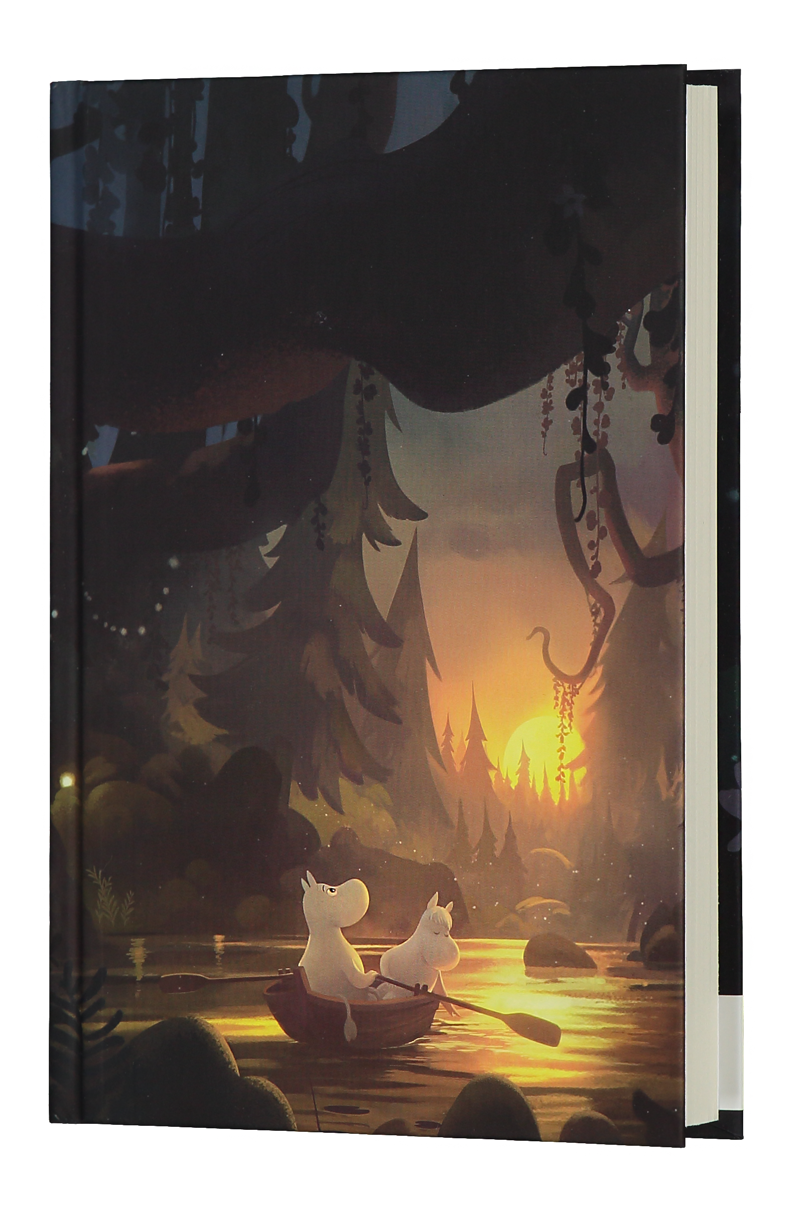 Anglo-Nordic Moominvalley notebook Summer Night