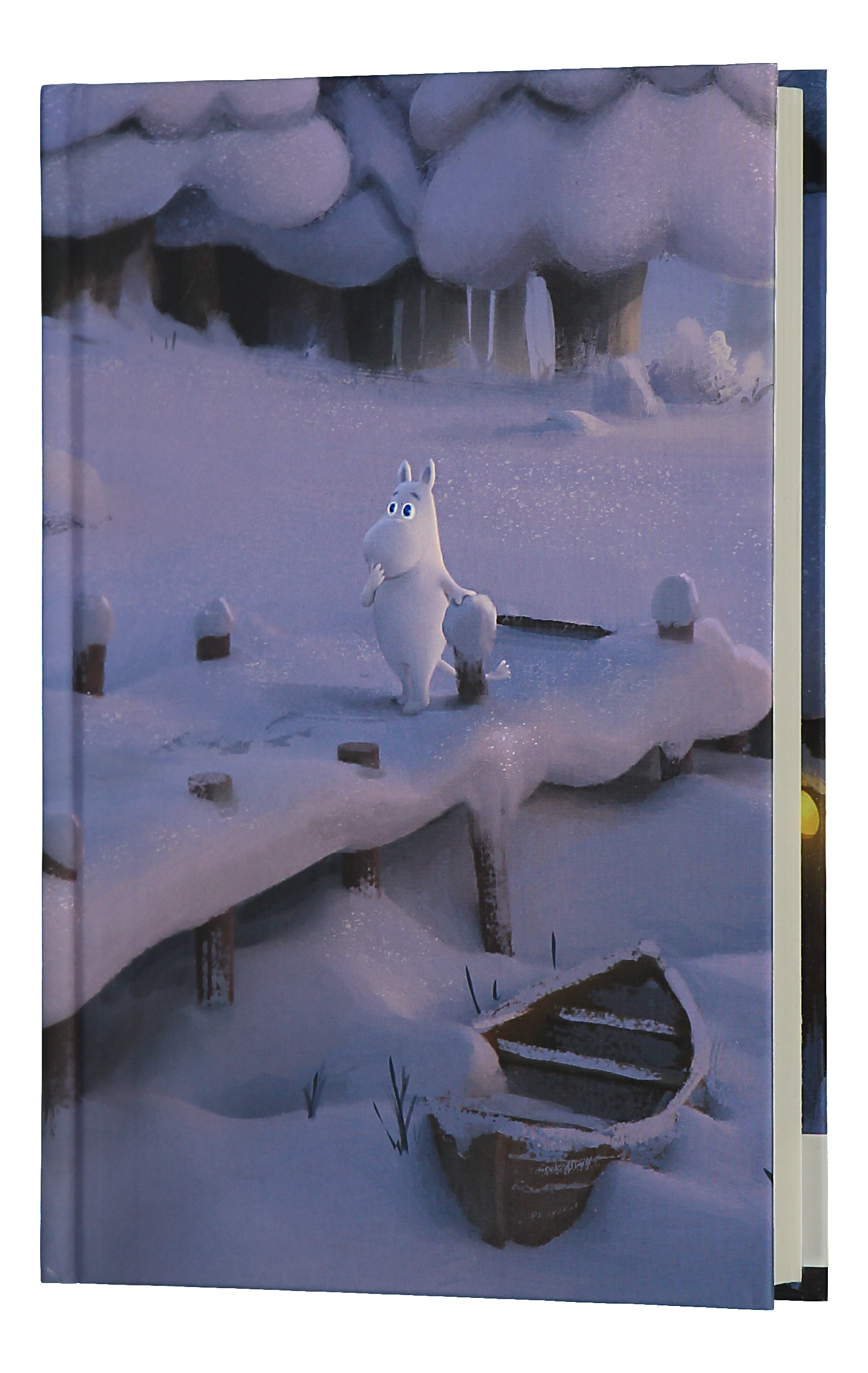 Anglo-Nordic Moominvalley notebook Winter