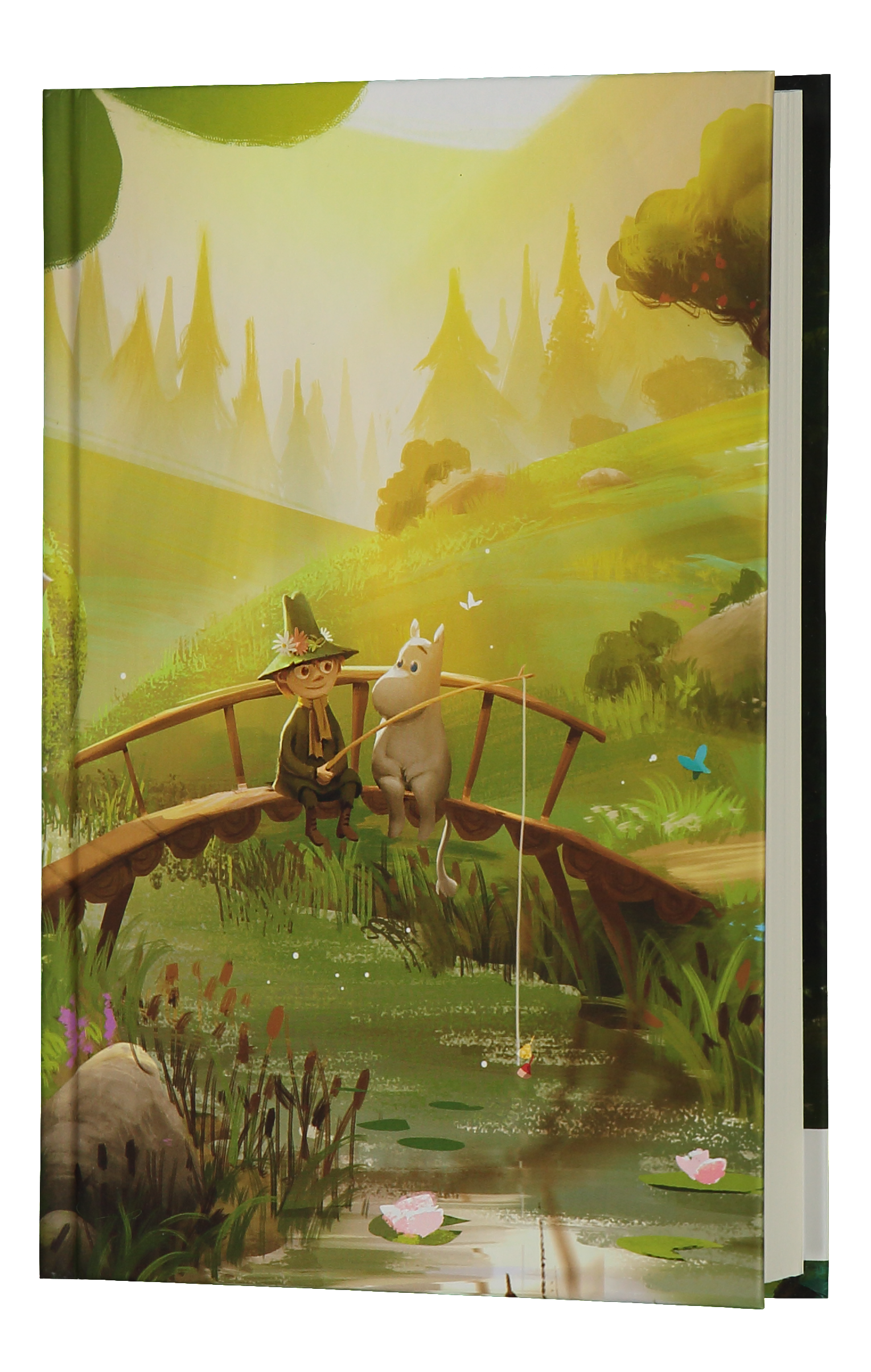 Anglo-Nordic Moominvalley notebook Bridge
