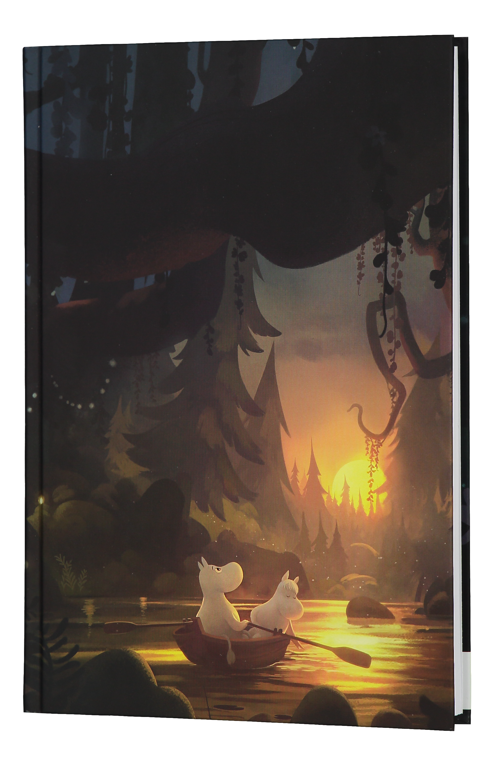 Anglo-Nordic Moominvalley notebook/guestbook B5 Summer Night