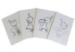 Anglo-Nordic Moominvalley ECO notebook a5 Little My assorted