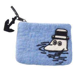 Klippan Yllefabrik Moomin at Sea felted purse