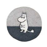 Klippan Yllefabrik Moomin hand felted pot mat