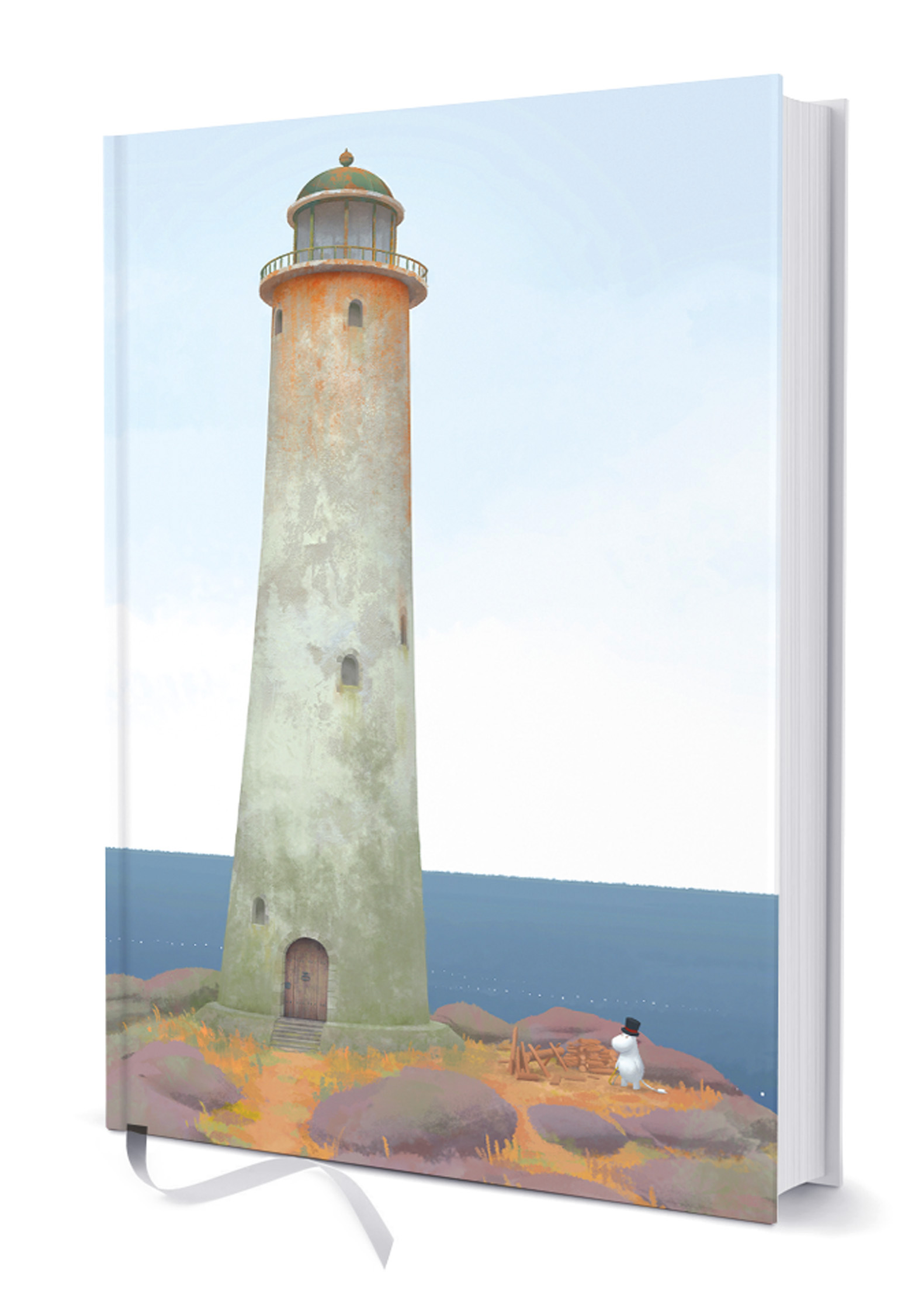 Hardcover #OURSEA Notebook Moominpappa and the Lighthouse