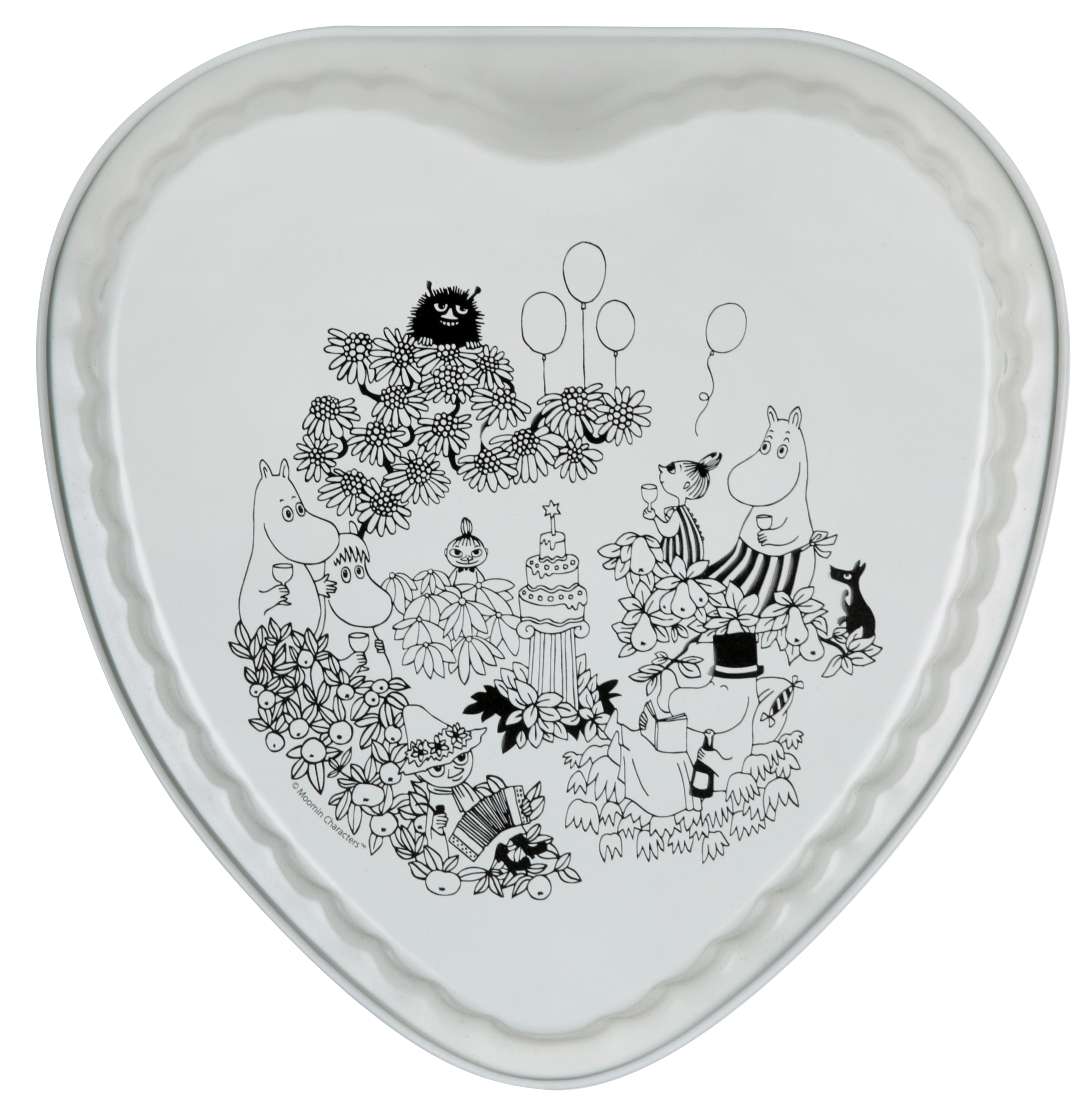 Martinex Moomin Garden Pie Dish