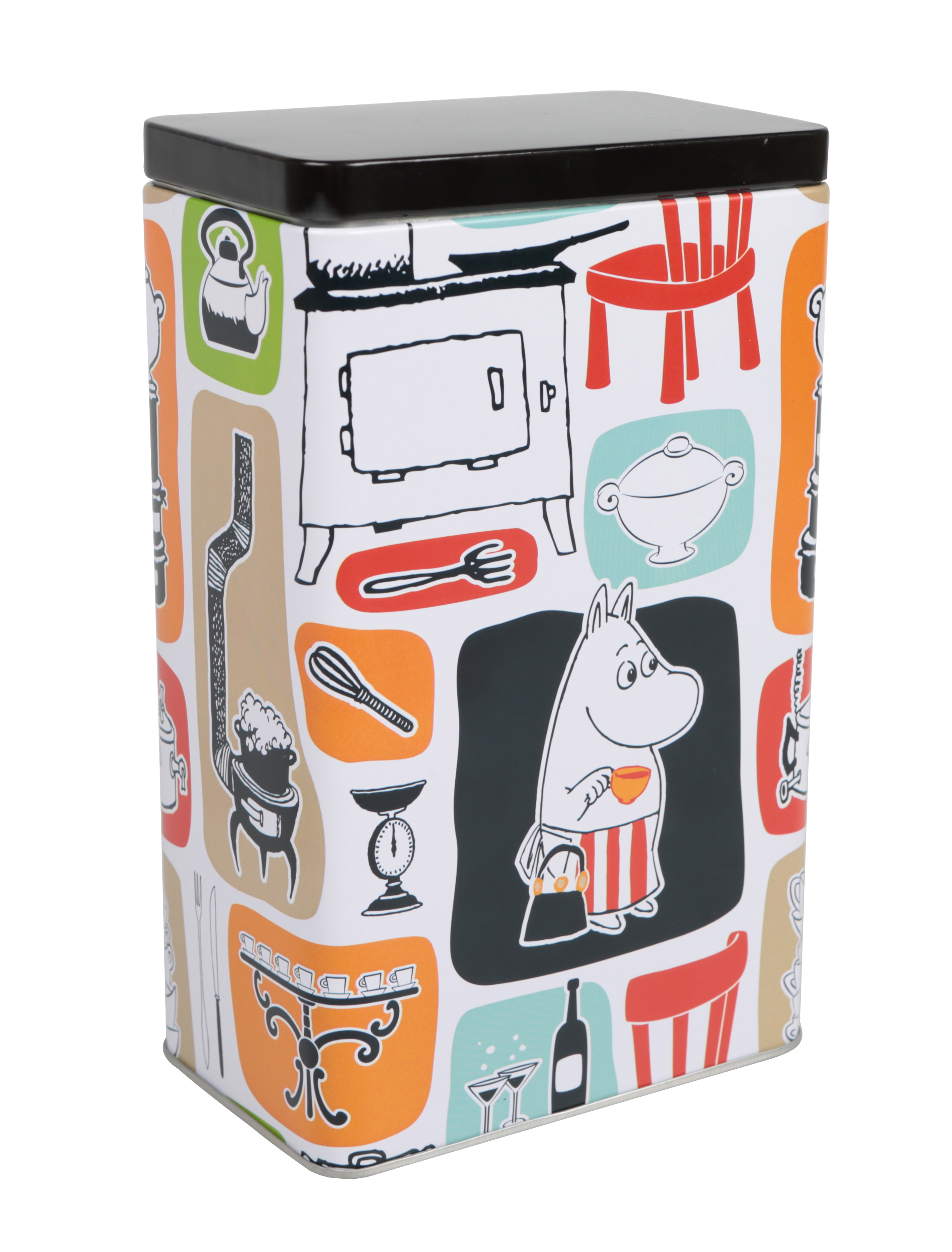 Martinex Moomin Patches Coffee Tin