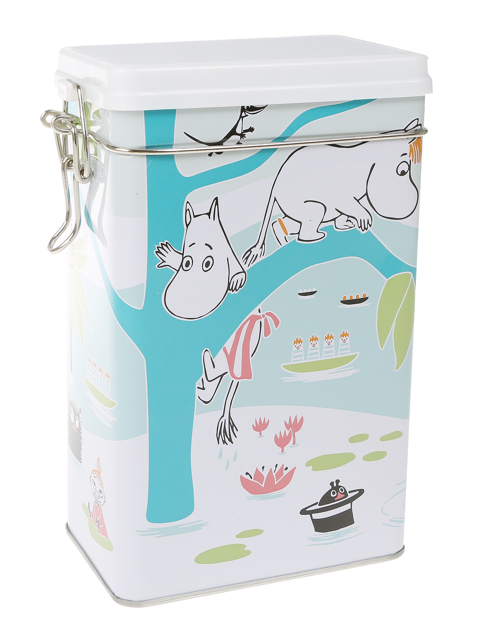 Martinex Moomins at the pond coffee tin