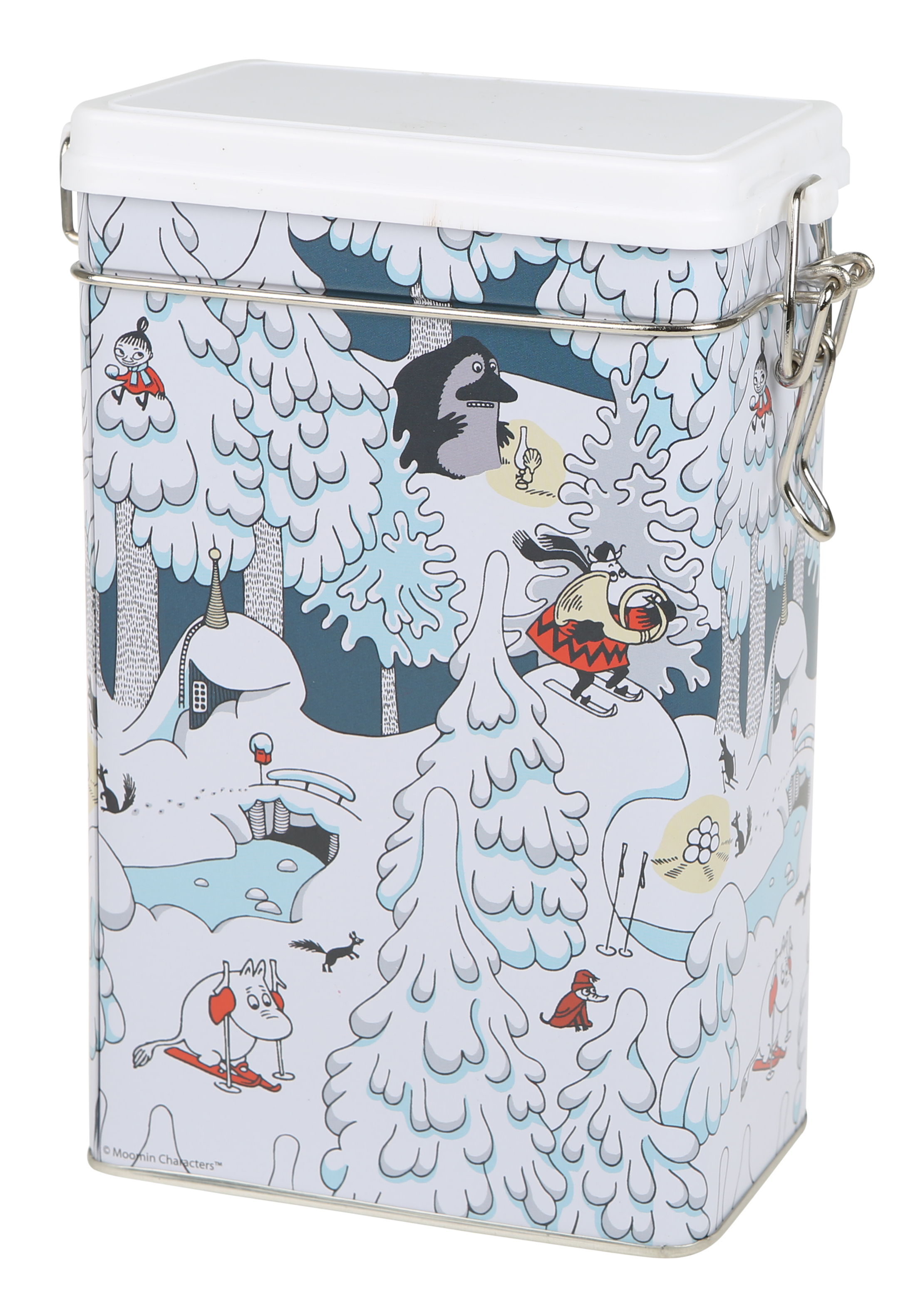 Martinex MOOMIN WINTERLAND COFFEE TIN