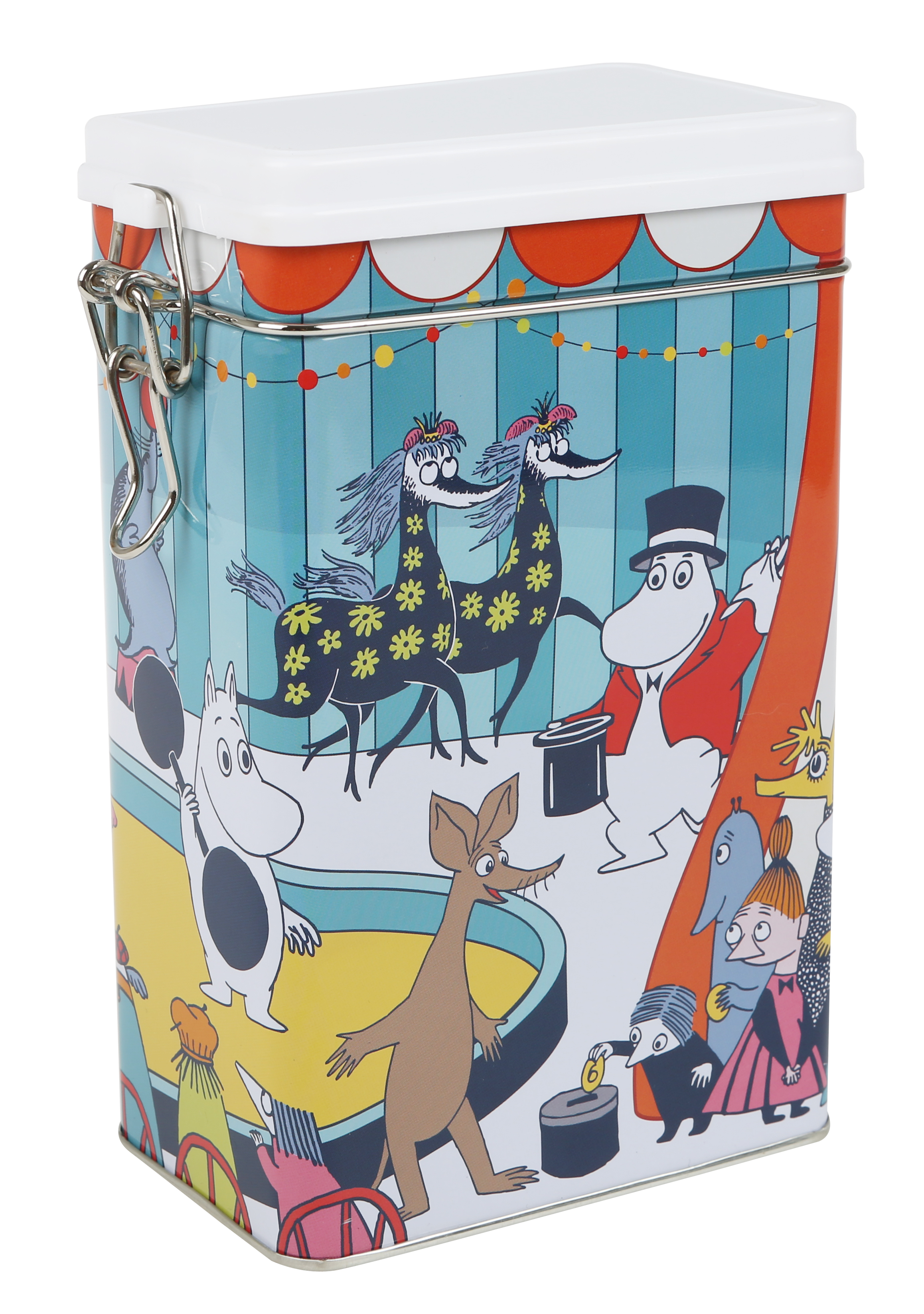 Moomin Circus coffee tin