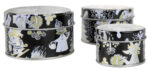 Martinex Moomin Too-Ticky's Christmas Tin Jar 3 Set