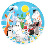 Martinex Moomin Summer Day Plate