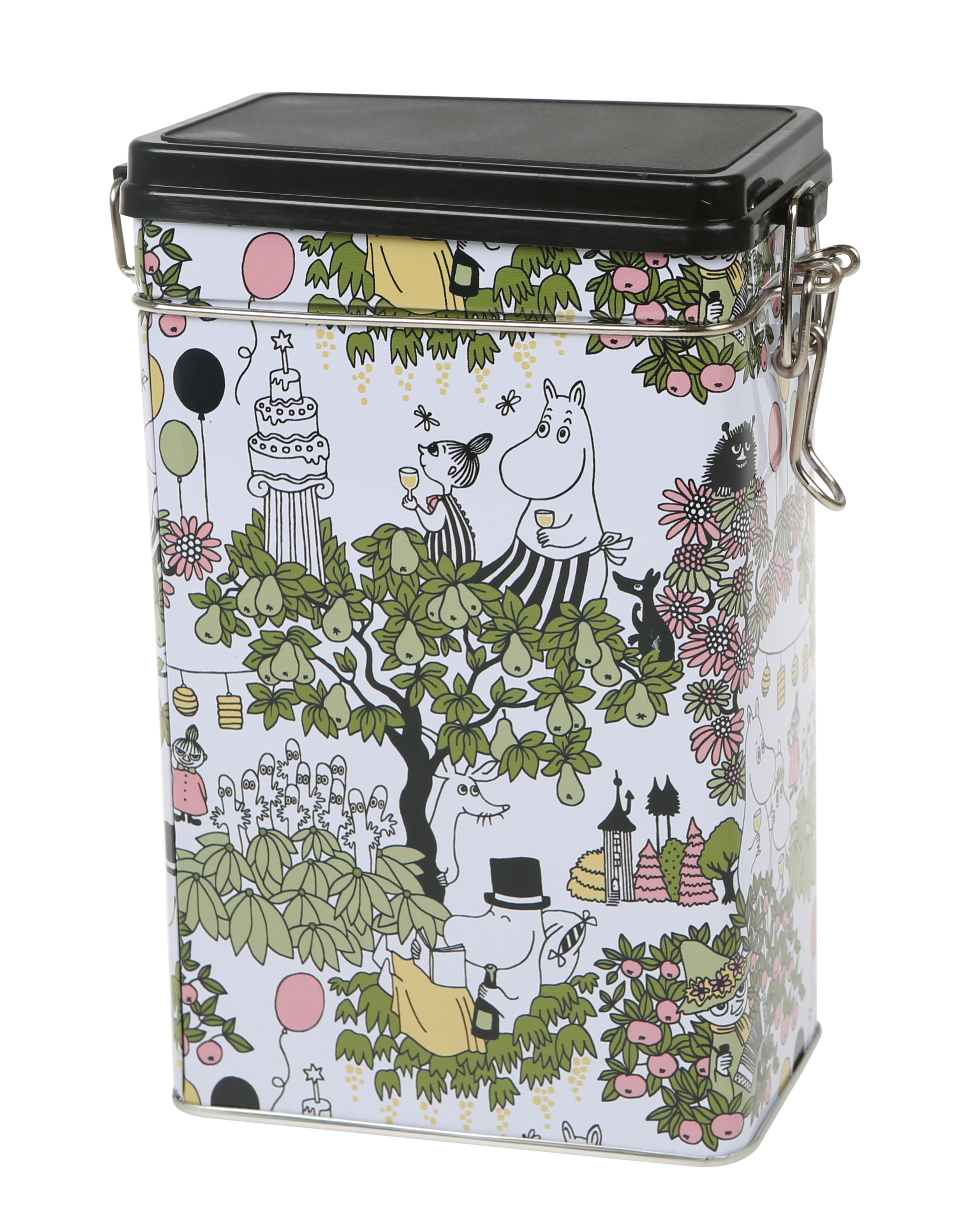 Martinex Moomin Garden coffee tin