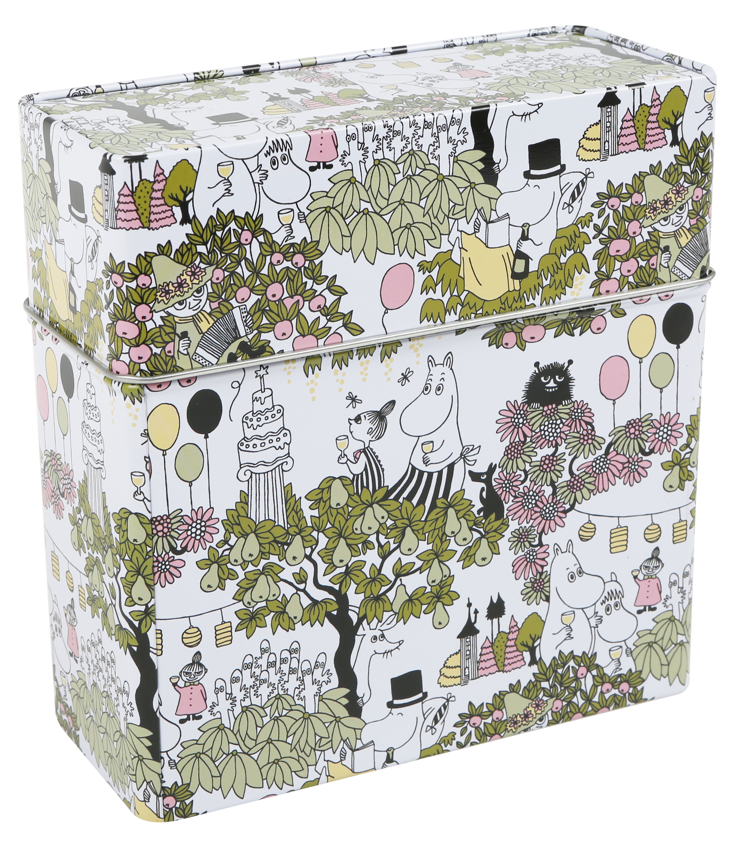 Martinex Moomin Garden coffee filter tin