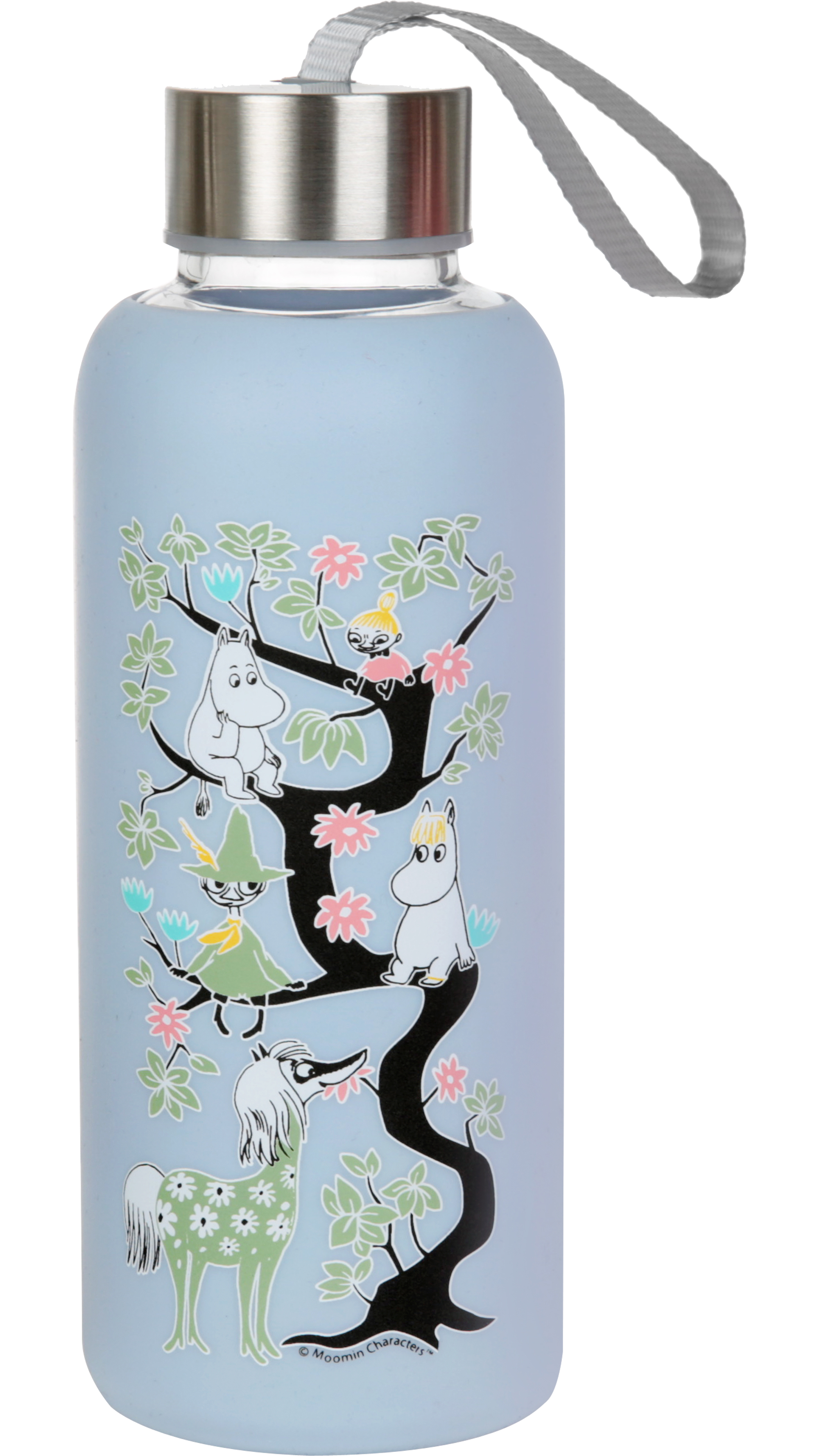 Martinex Moomin Climbing Tree Bottle Blue