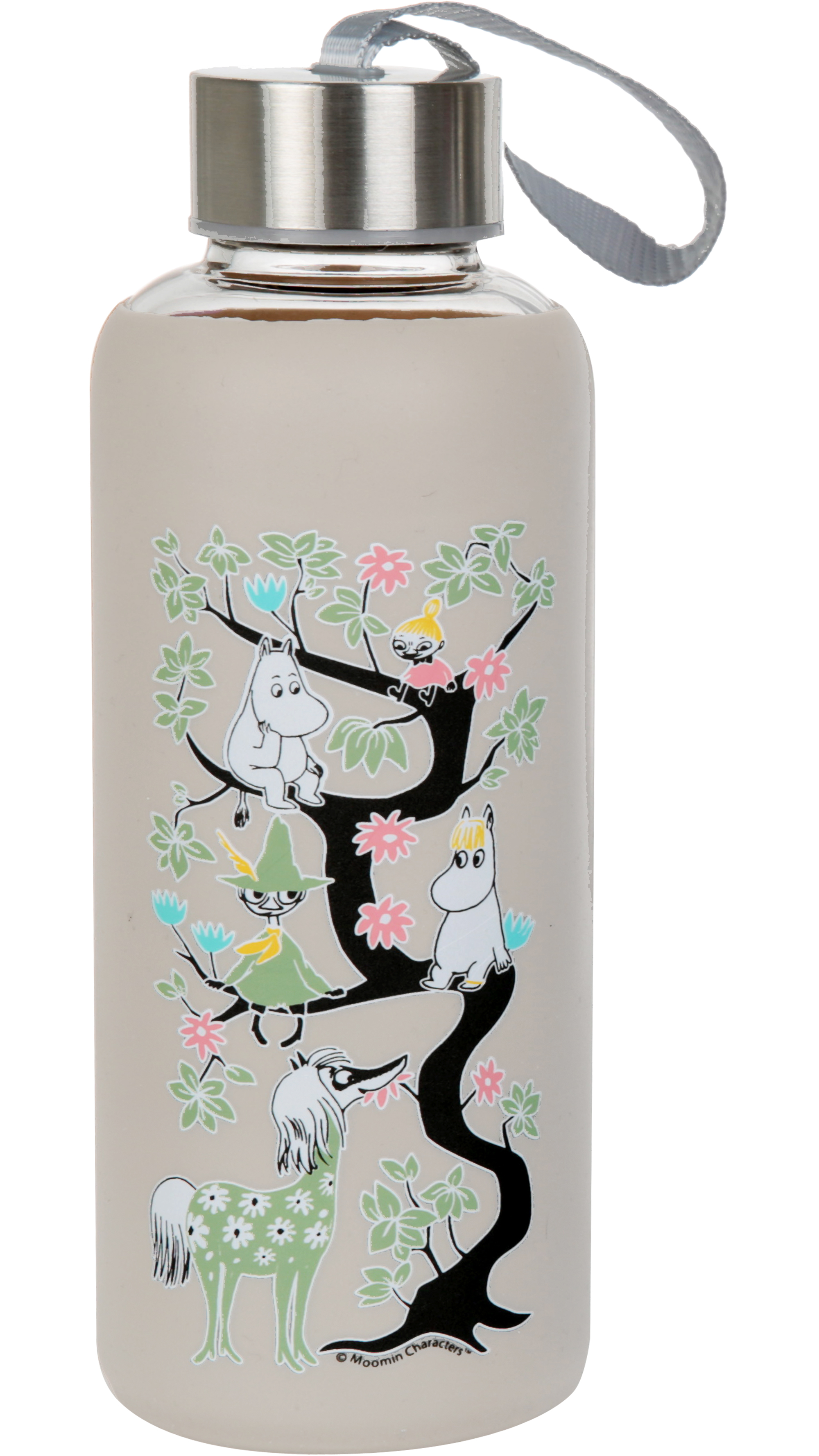 Martinex Moomin Climbing Tree Bottle Grey