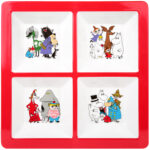Martinex Moomin Characters Section Tray