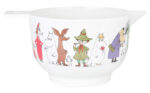 Martinex Moomin Characters Melamine Bowl L