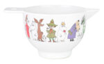 Martinex Moomin Characters Melamine Bowl S