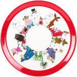 Martinex Moomin Characters Round Tray