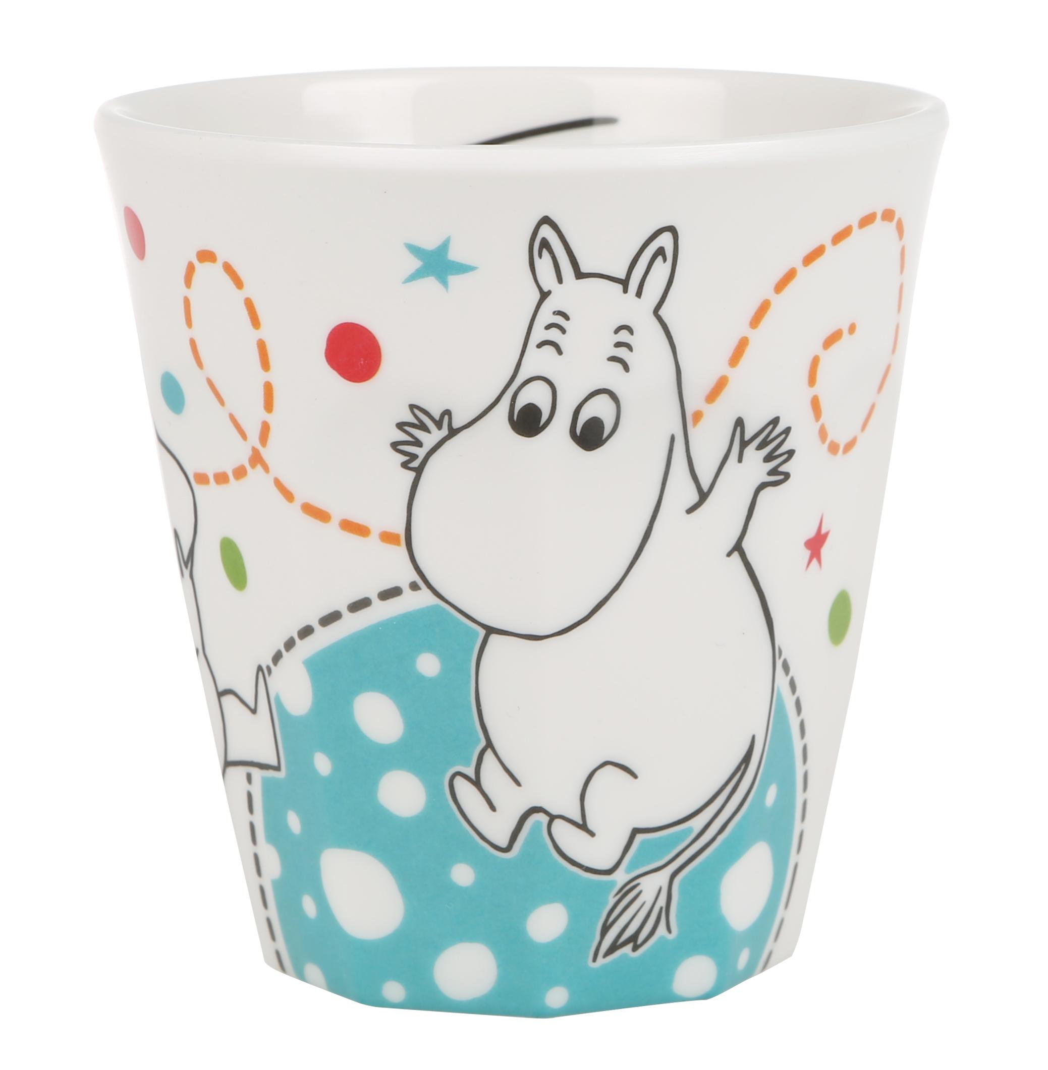 Martinex Moomin Whirls melamine mug