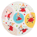 Little My Whirls melamine plate