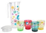 Martinex Moomin Birthday Set Jug + 4 Mugs