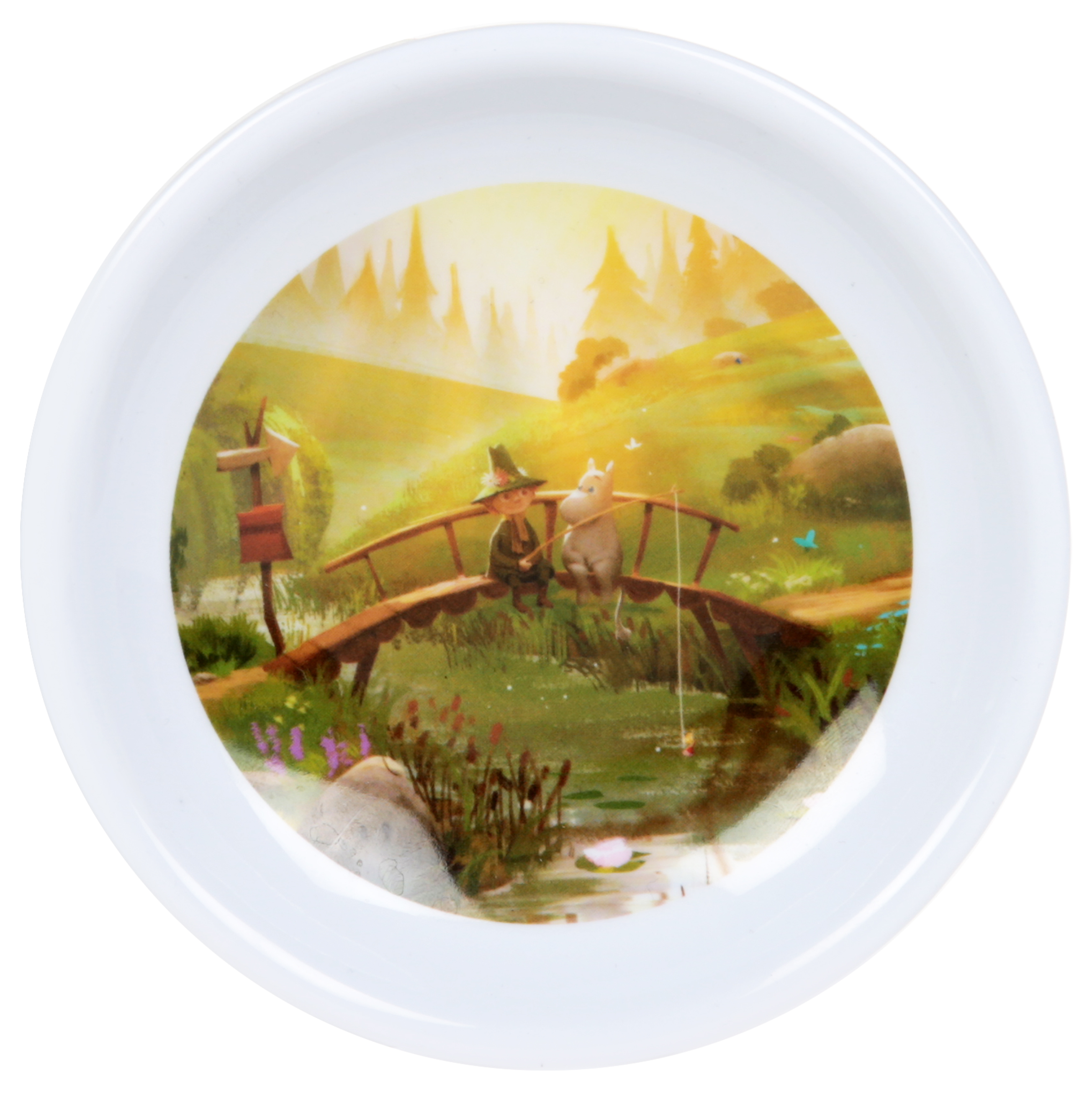 Martinex Moominvalley Animation Tea Bag Holder Fishing