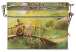 Martinex Moominvalley Animation Tea Tin Fishing