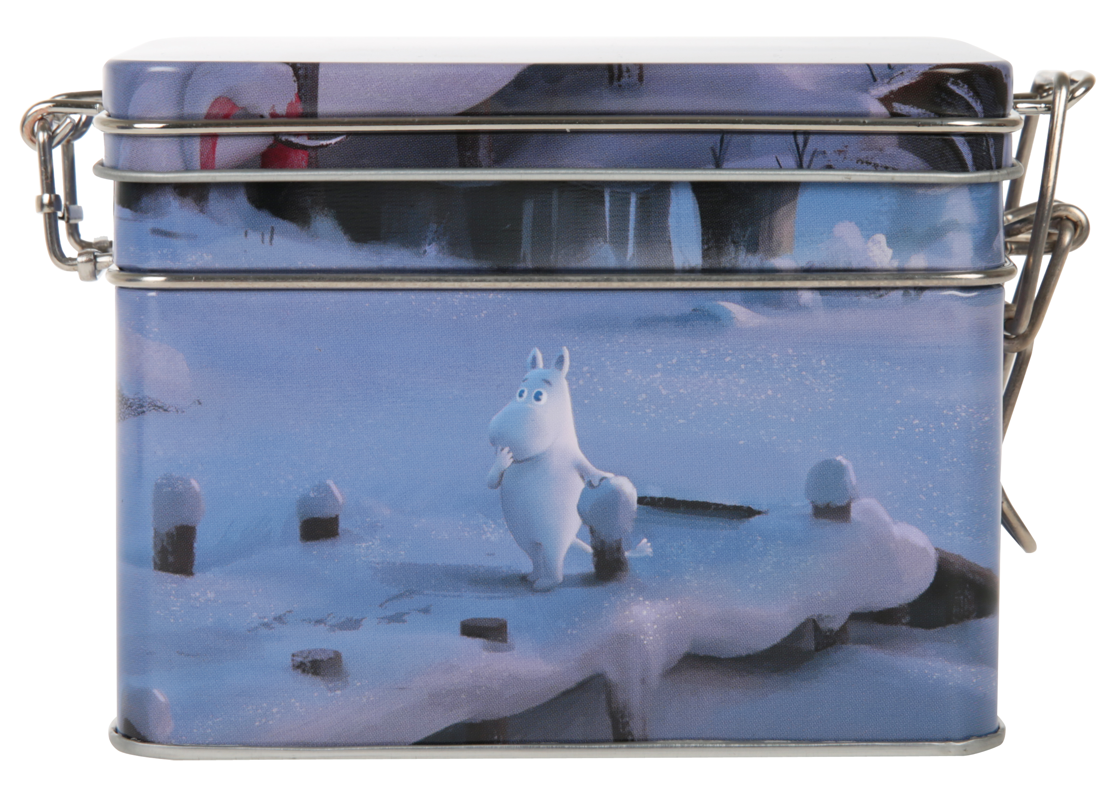 Martinex Moominvalley Animation Tea Tin Winter