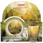 Martinex Moominvalley Animation Kids Dinner Set Fishing