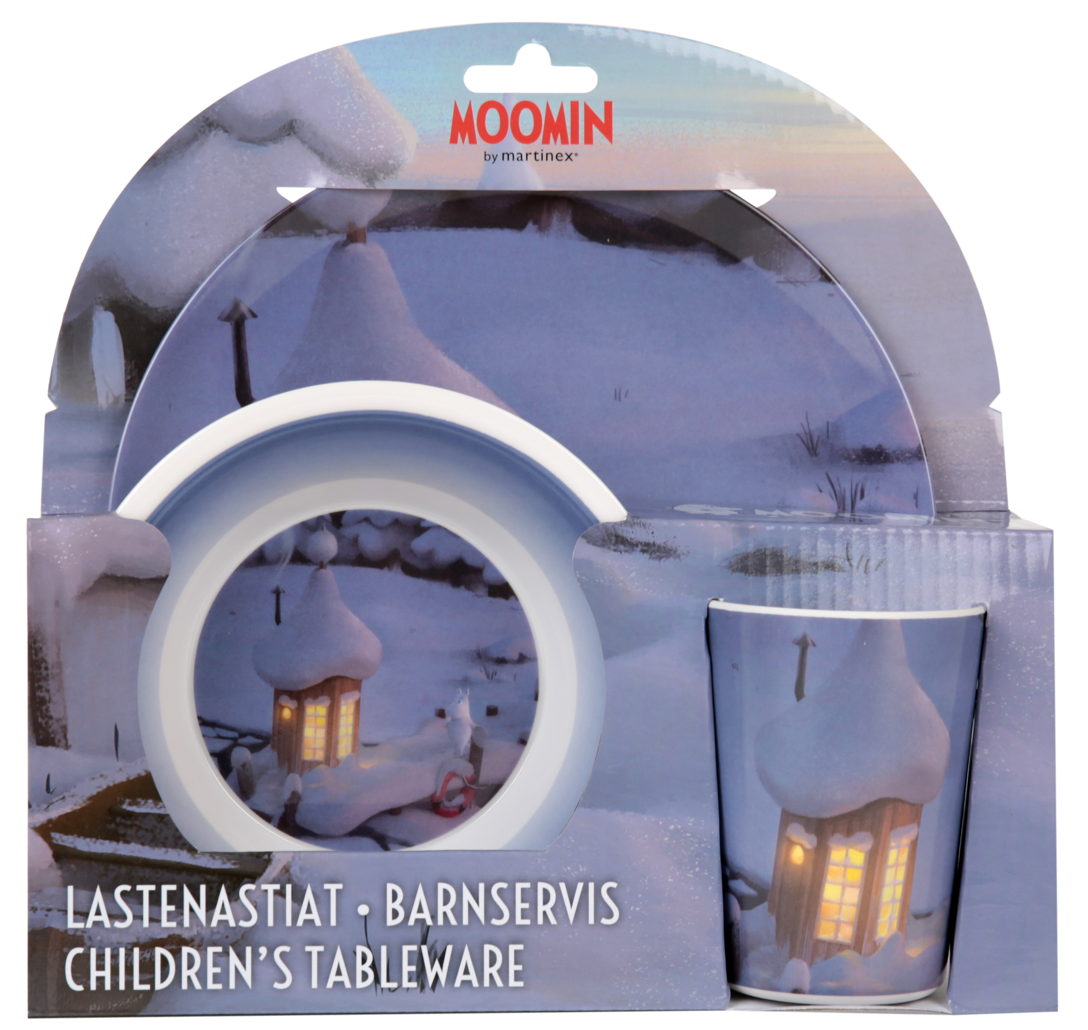 Martinex Moominvalley Animation Kids Dinner Set Winter