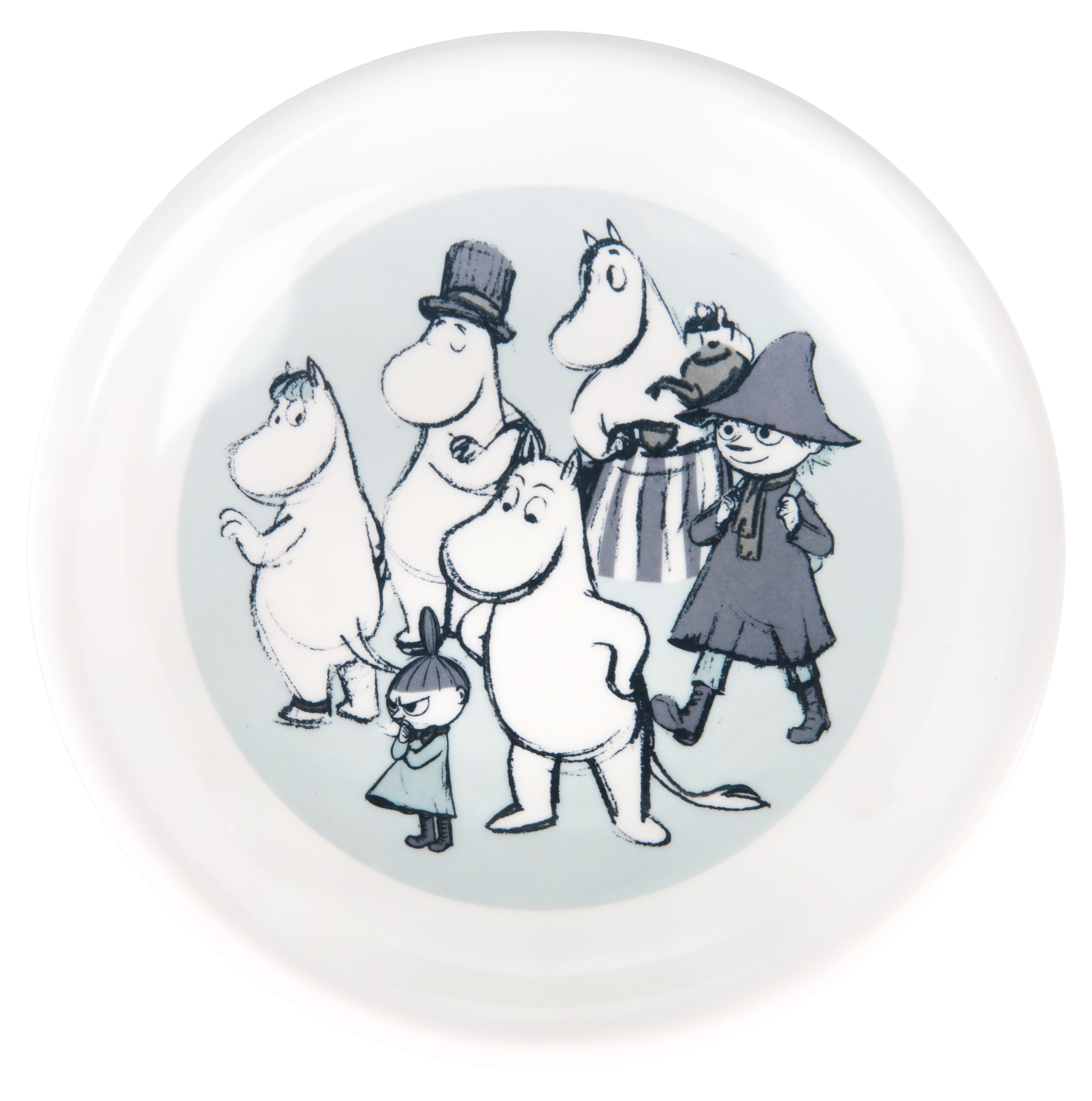 Martinex Moominvalley Sketch Soup Plate