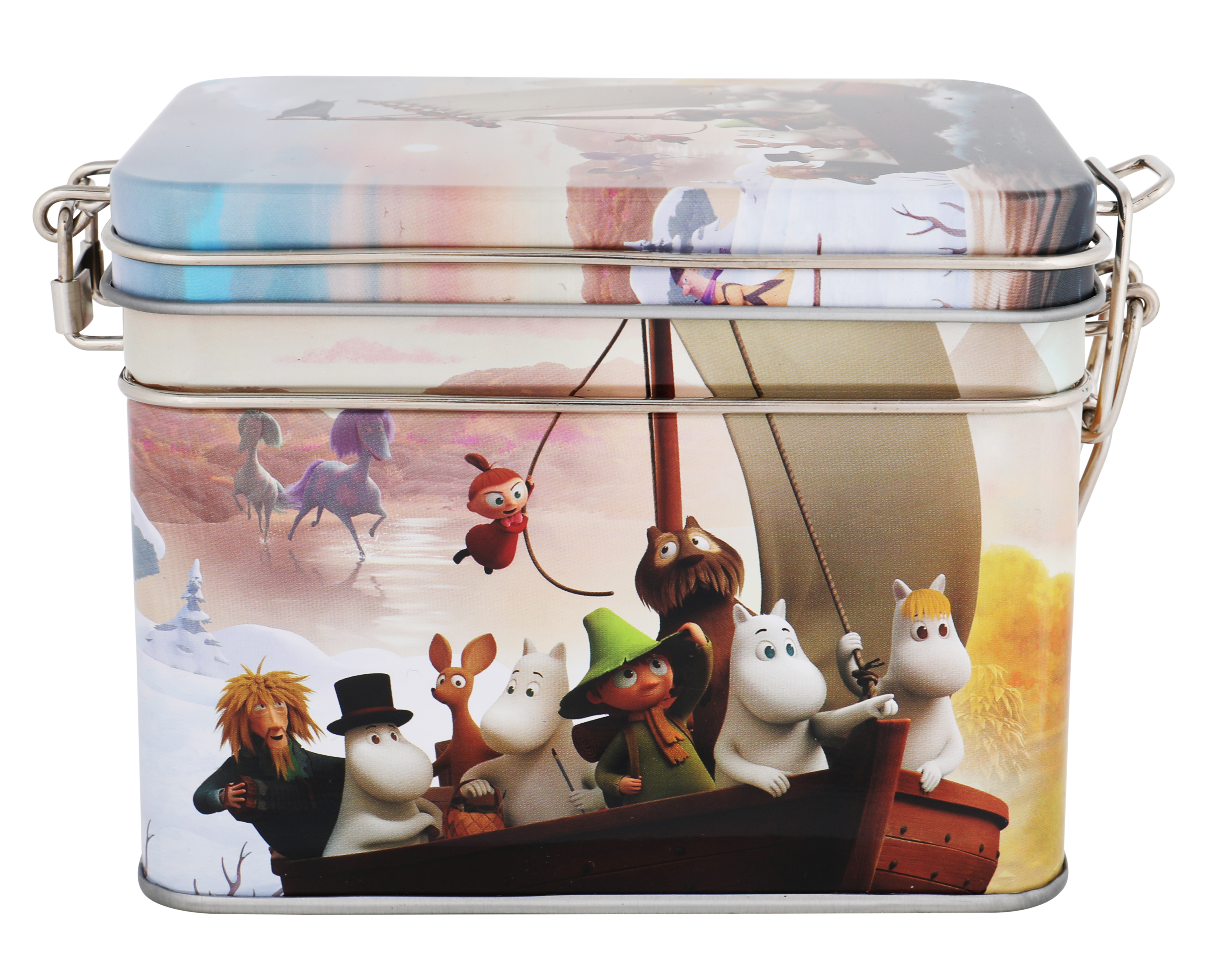 Martinex Moominvalley Sail Tea Tin