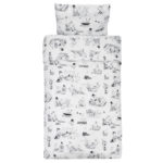 Rätt Start BED SET, JUNIOR/ADULT,  MOOMIN ARCHIPELAGO