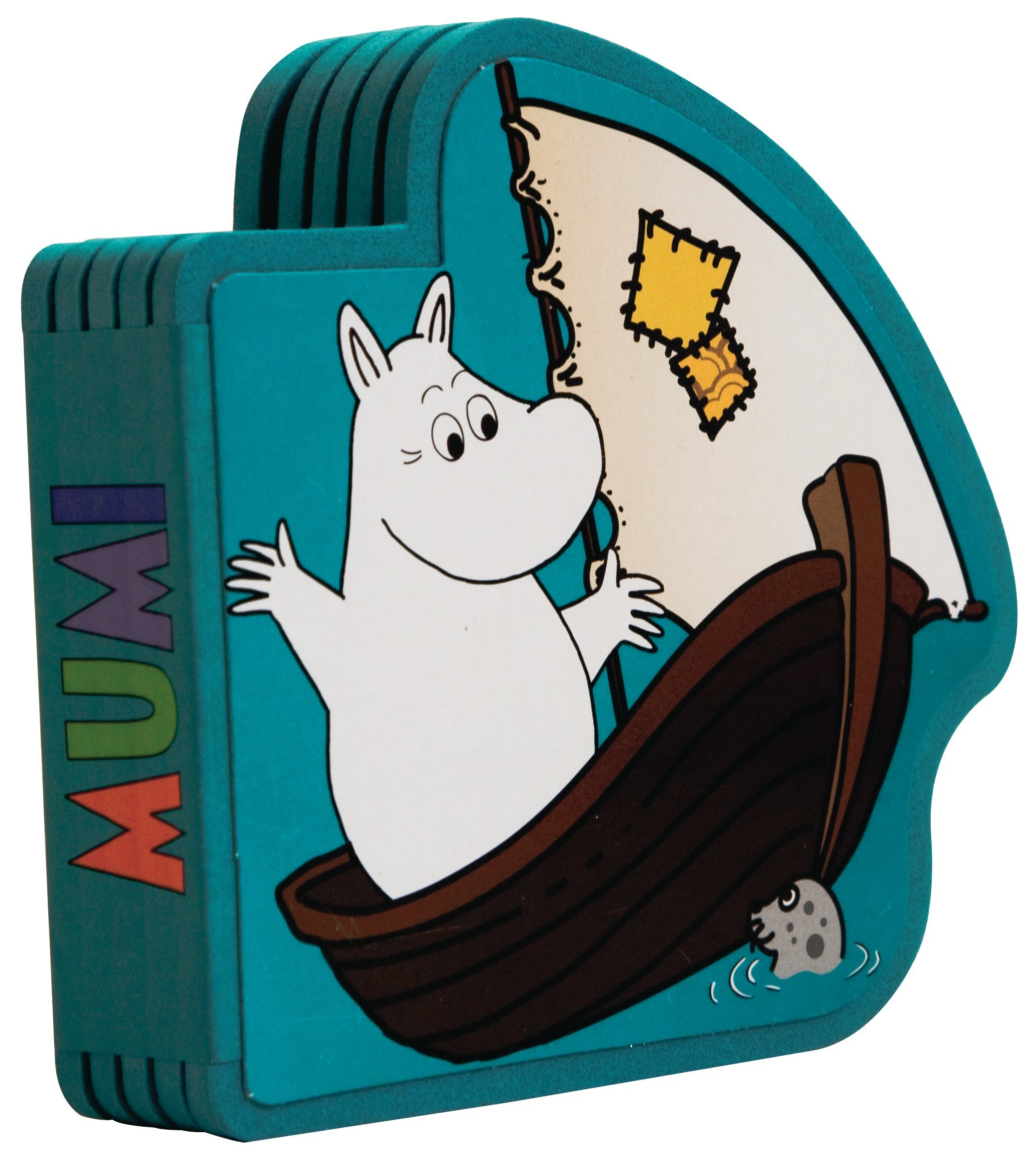 Barbo Toys foam book moomin and the sea
