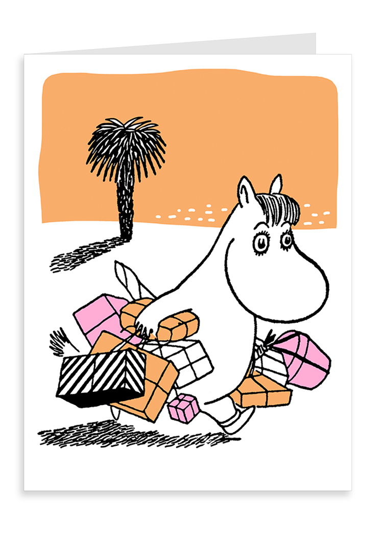 Putinki Letterpress Greeting Card Snorkmaiden shopping