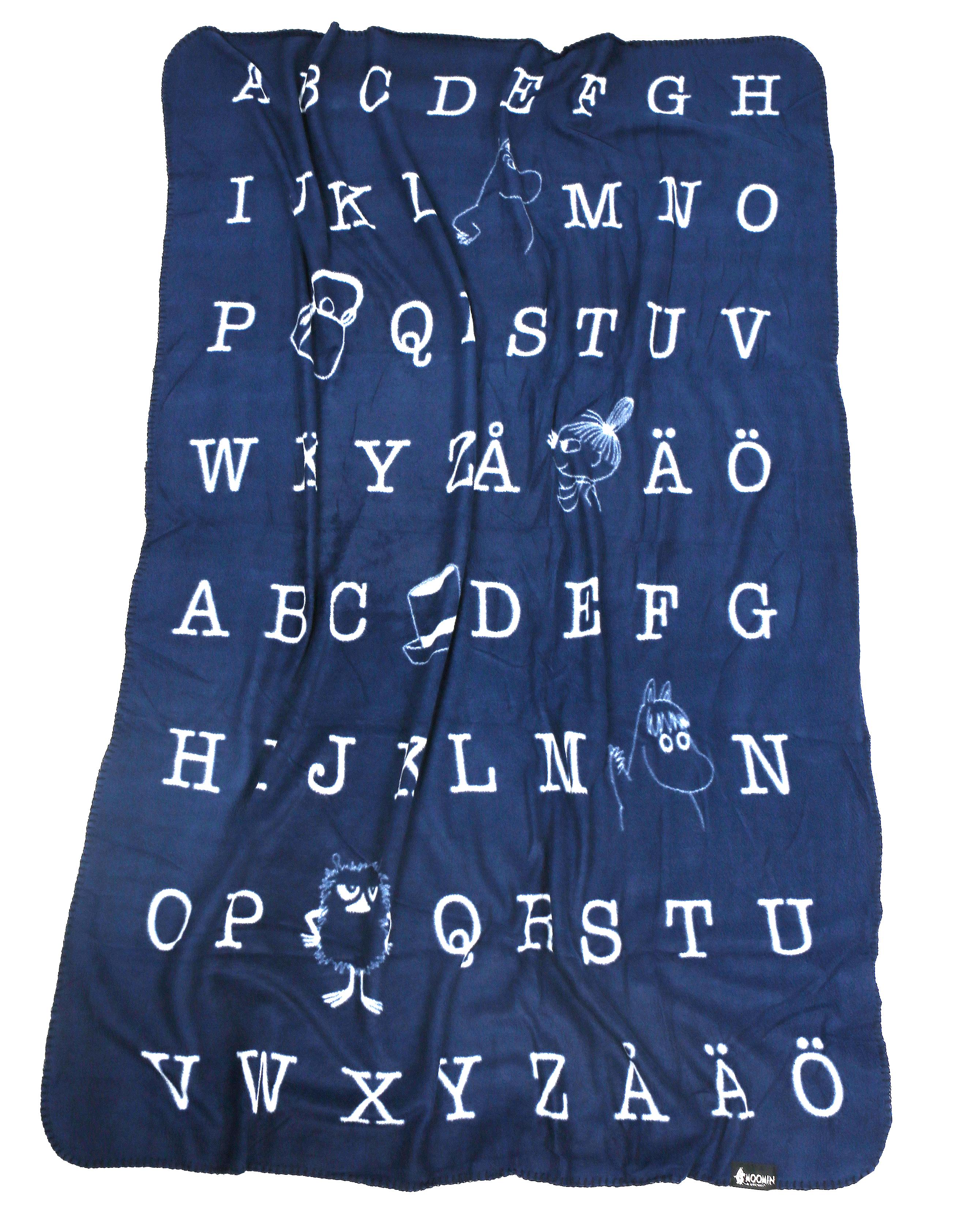 Martinex Moomin Letter Blanket