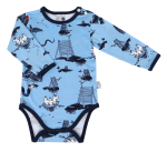 Martinex Moomin SEA BODY LIGHTBLUE