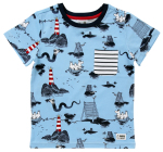 Martinex Moomin SEA T-SHIRT BLUE