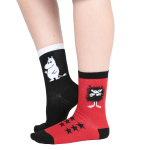 Martinex Moomin STINKY SOCKS BLACK 2 PAIR 23-26