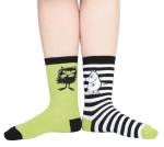Martinex MOOMIN SOCKS GREEN 2 PAIR 23-26