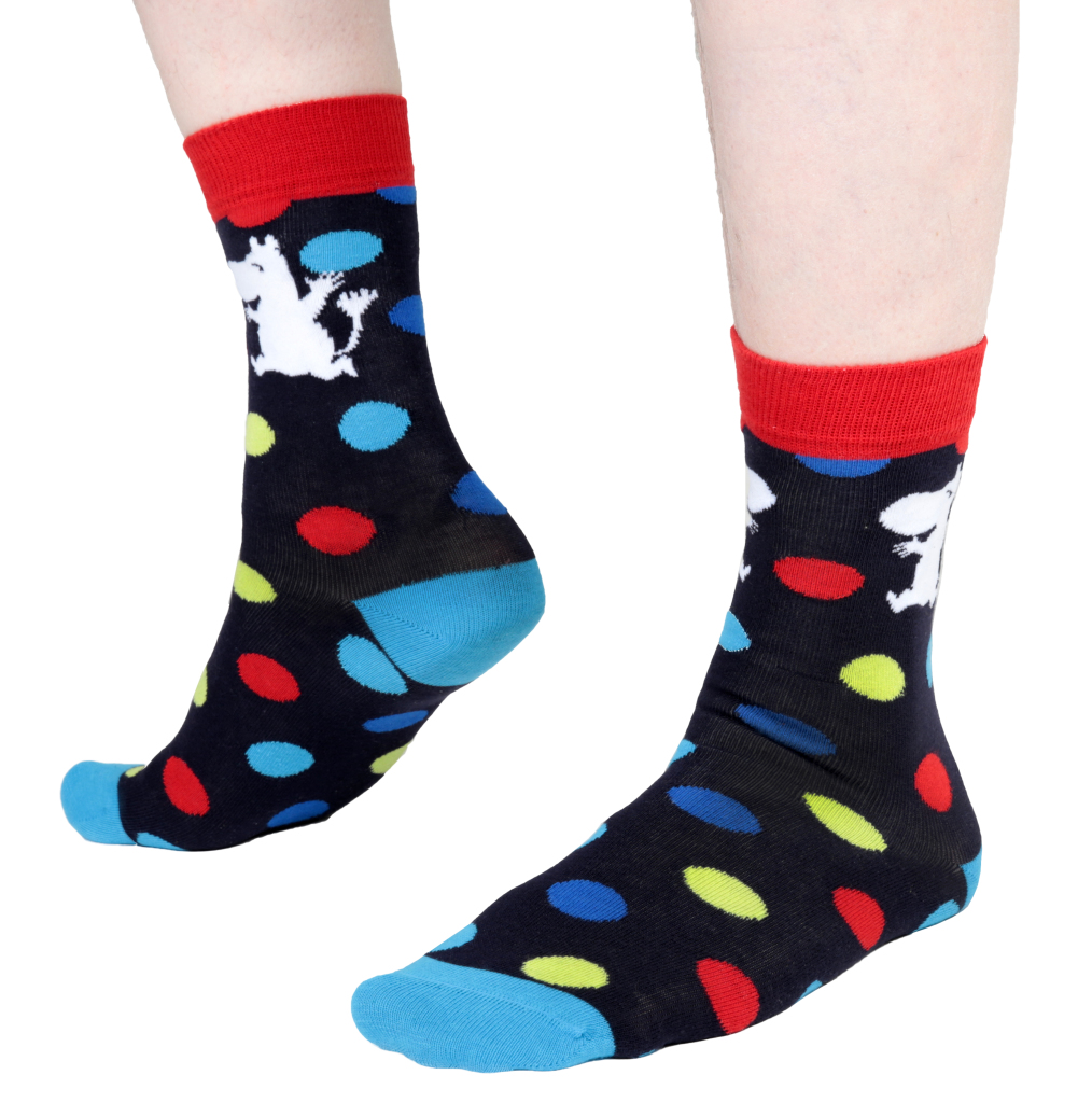 Martinex MOOMIN SOCKS DOTS BLUE 37-39