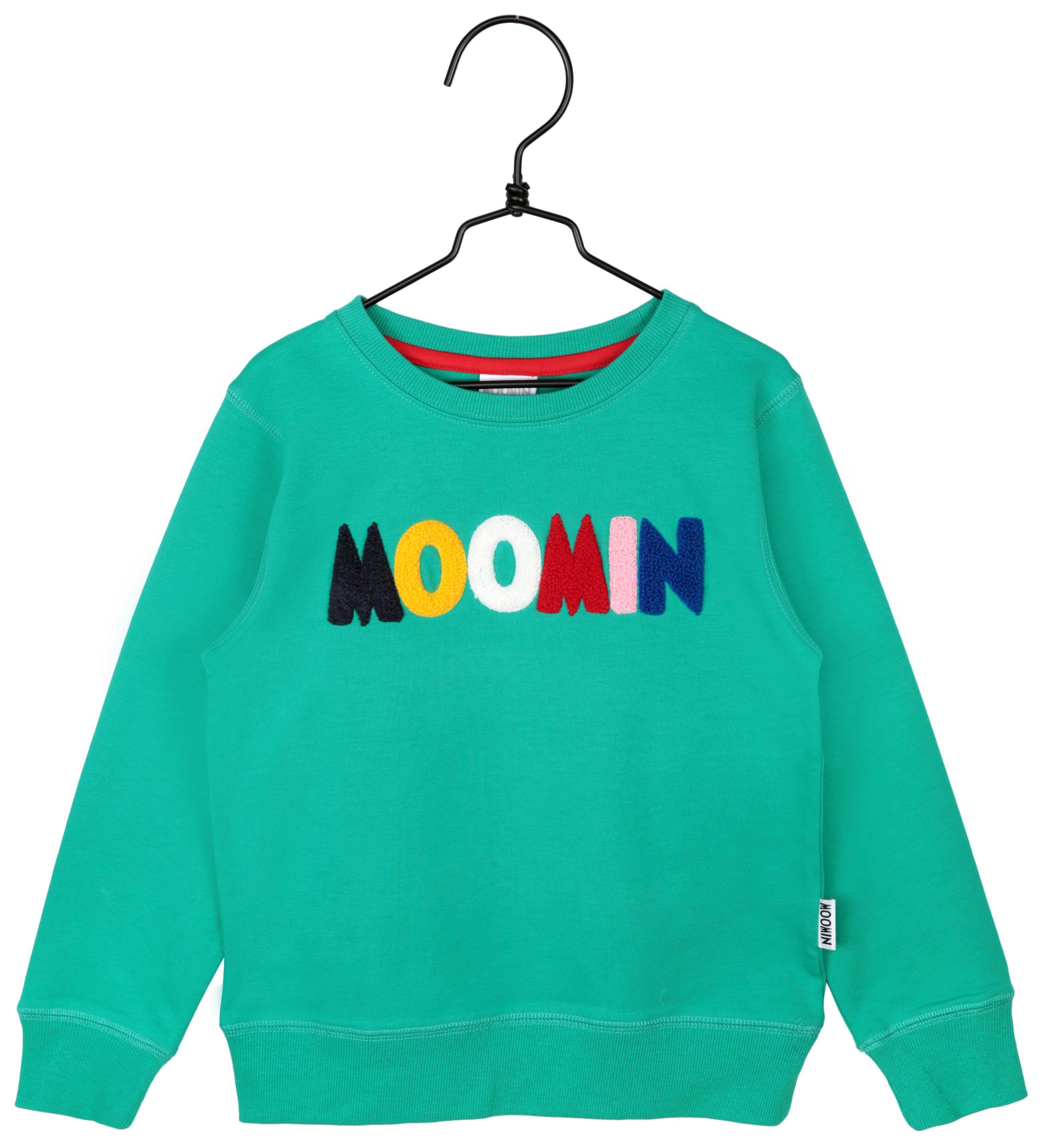 Martinex Moomin Logo Sweatshirt Green