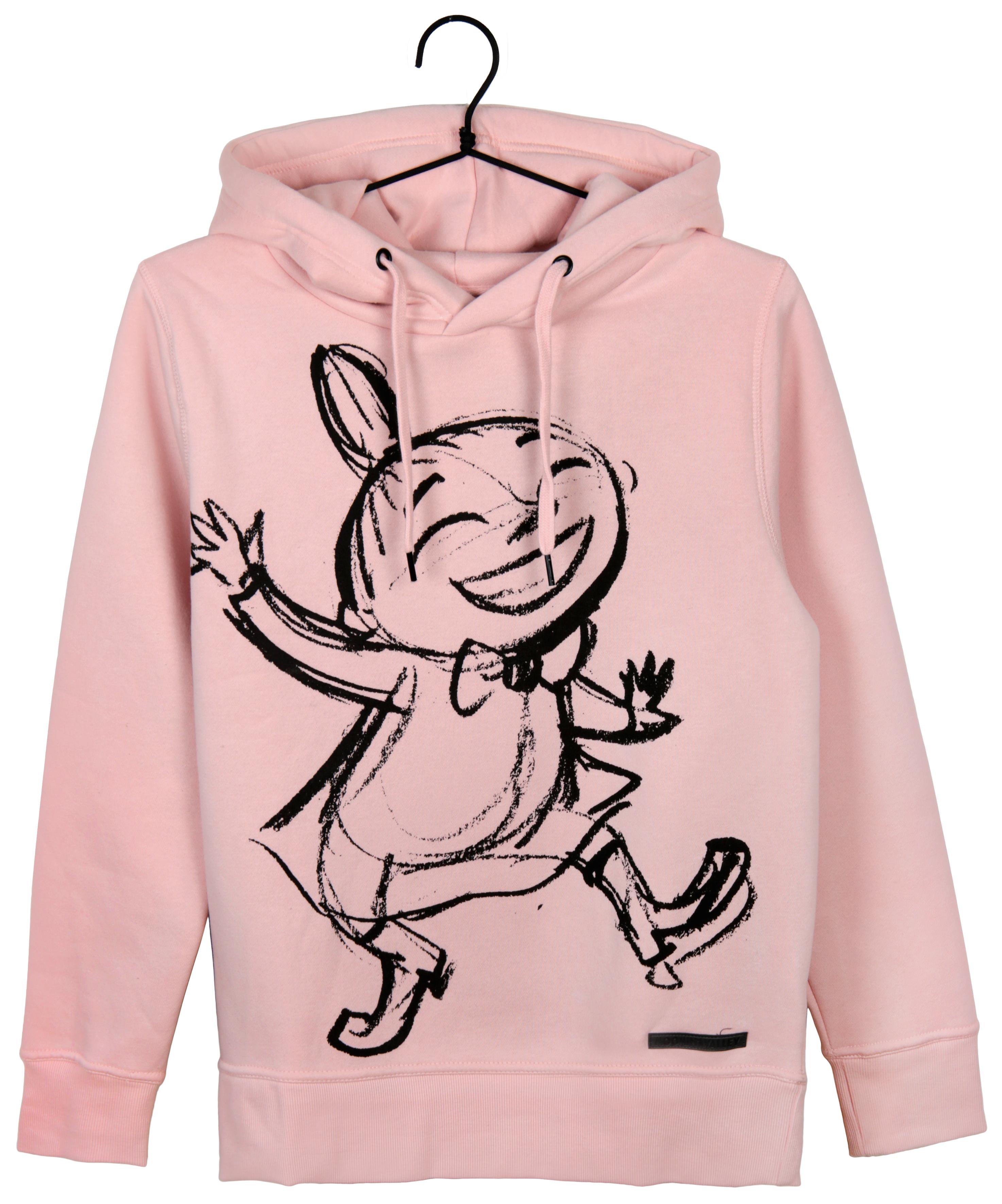 Martinex Moomin Lilli Hoodie Sketch Pink