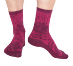 Martinex Moomin Rose Socks Rasberry