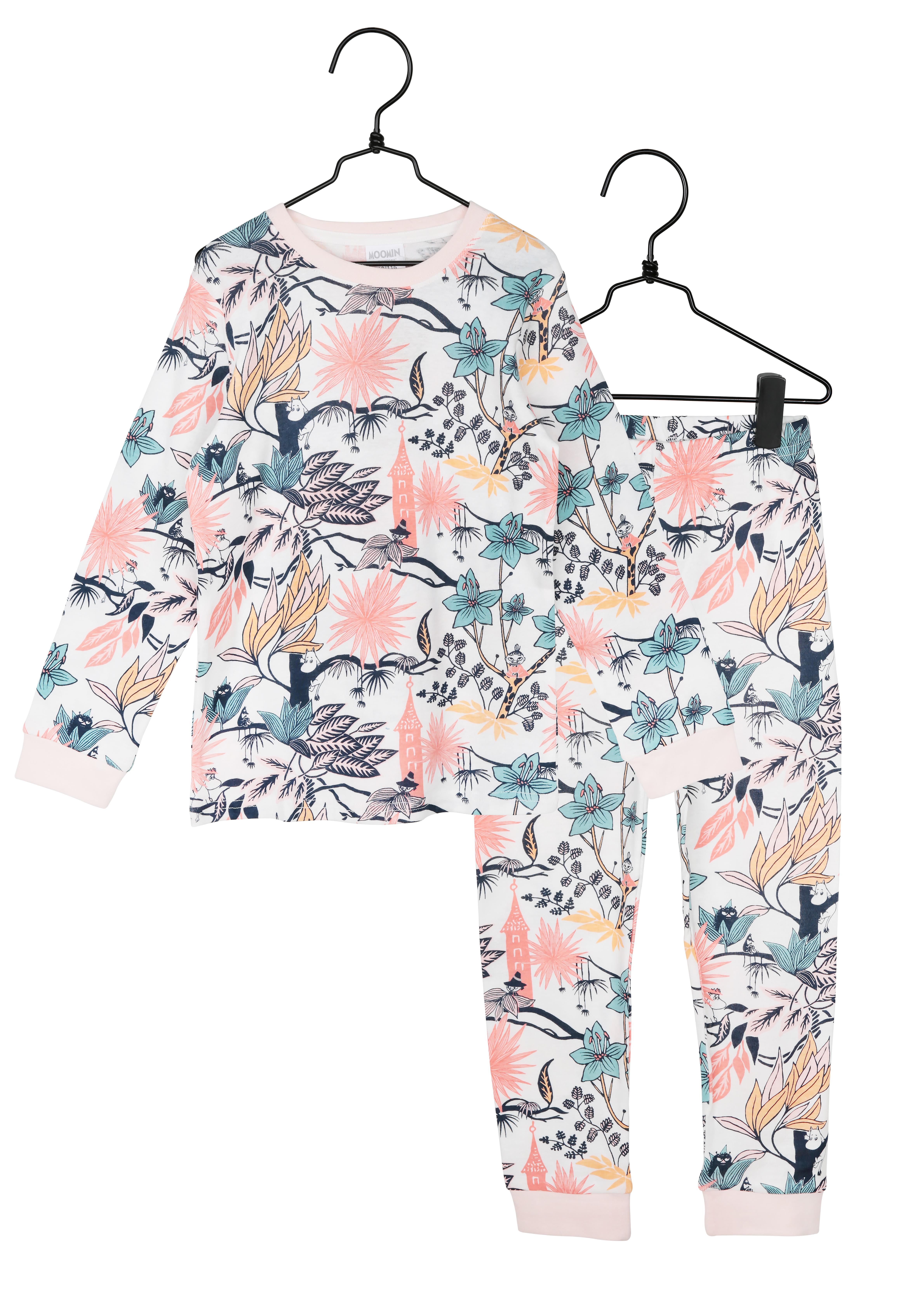 Martinex Moomin Paradise Pyjamas Pink