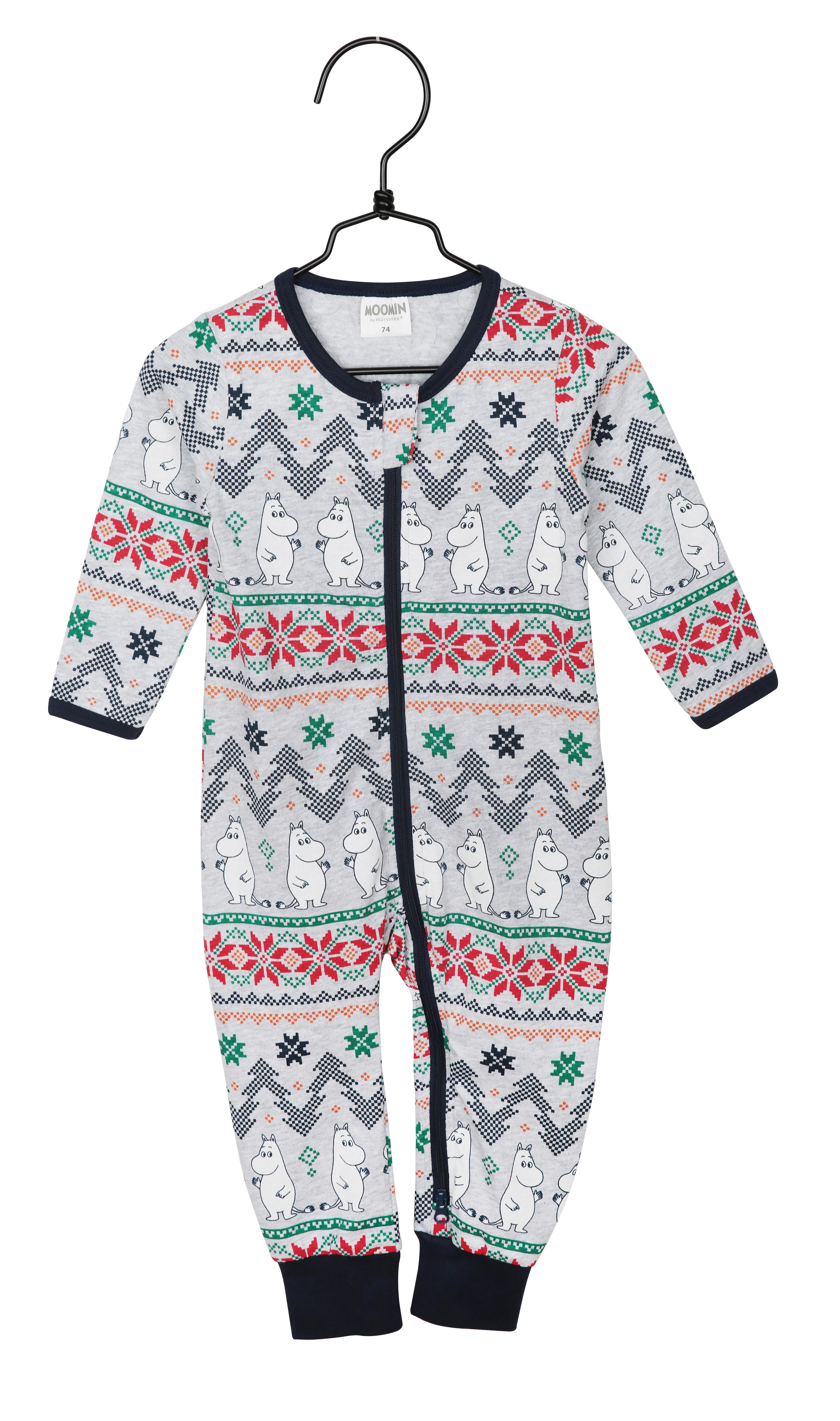 Martinex Moomin Noël Pyjama Grey