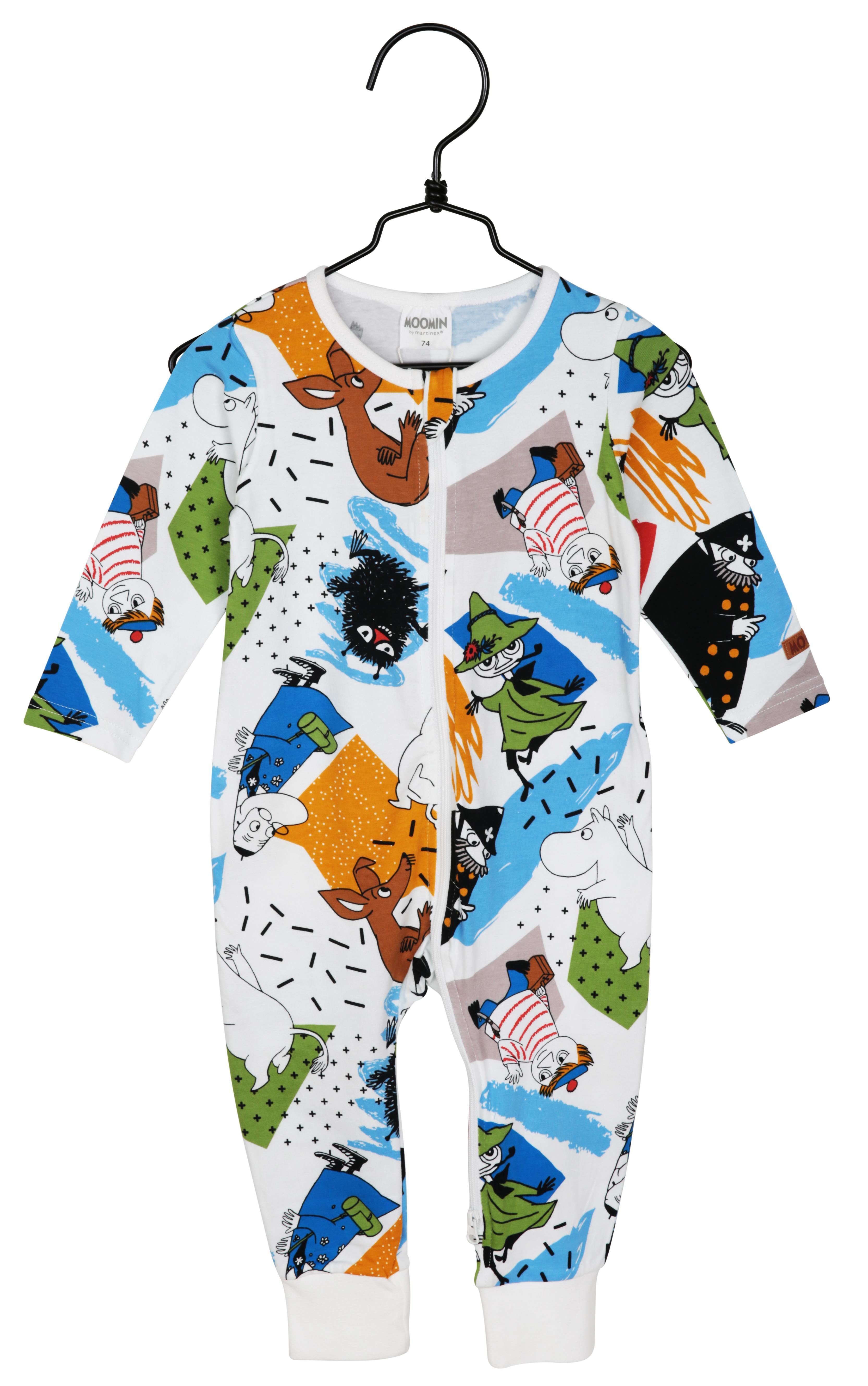 Martinex Moomin Ballyhoo Pyjamas Blue