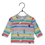 Martinex Moomin  Lines Shirt Grey